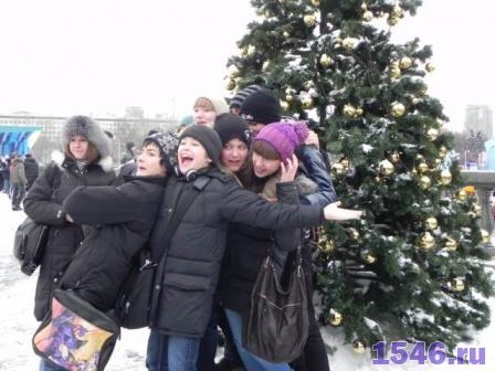 Новый Год в парке Горького 4