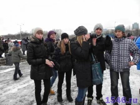 Новый Год в парке Горького 11