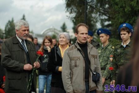 Виталий Р. и мать Дмитрия Р. погибшего в Беслане